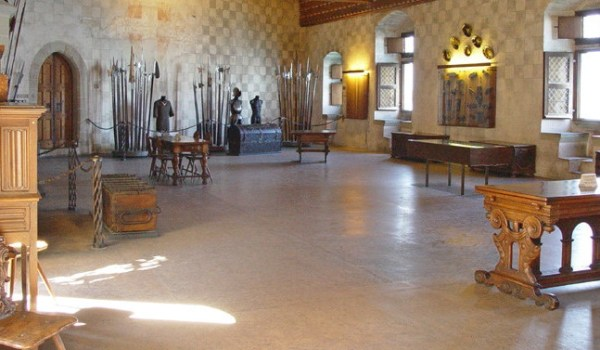 Chateau de Chillon Hall