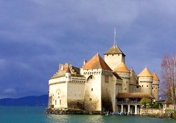 Chateau de Chillon Sea