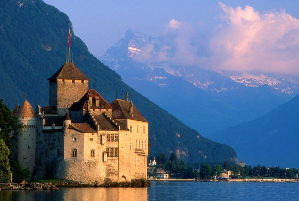 Chateau de Chillon Switzerland