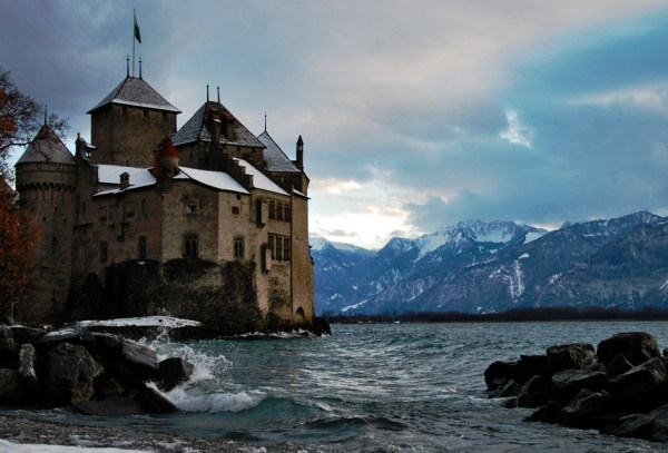Chateau de Chillon stones