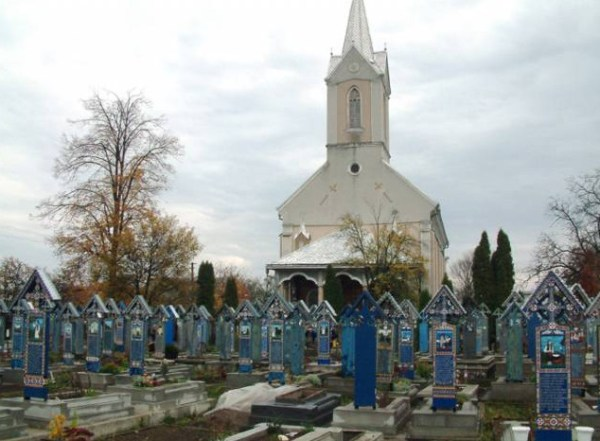 Cimitirul Vesel church