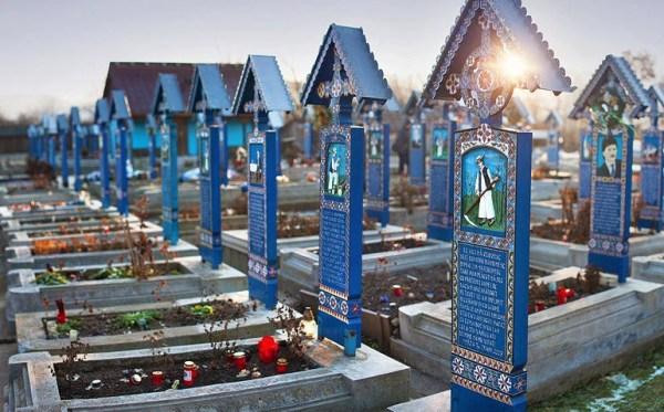 Cimitirul Vesel in Romania