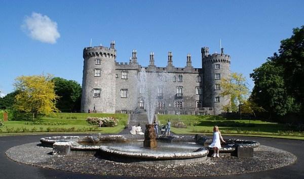 Kilkenny Castle Fountain