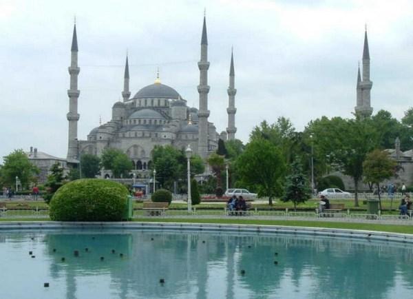 Sultanahmet Camii pool