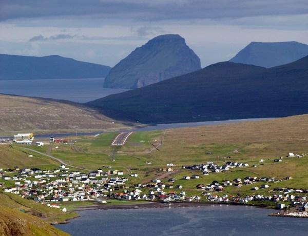 Sorvagur landscape