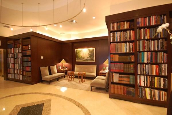 отель-библиотека США