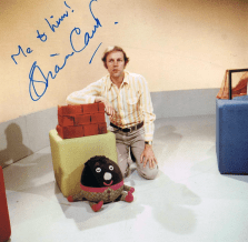 PICTURED: Brian Cant (Play School 10th anniversary, 1974). SUPPLIED BY: Paul R. Jackson. COPYRIGHT: BBC.