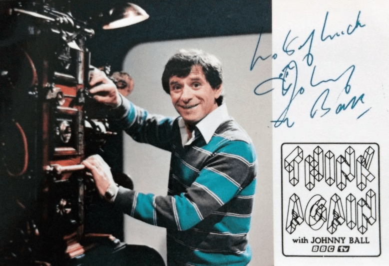 PICTURED: Johnny Ball (1980s). SUPPLIED BY: Paul R. Jackson. COPYRIGHT: BBC.