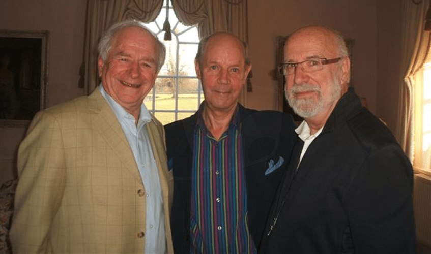 PICTURED: Johnny Ball; Brian Cant; Rick Jones (March 2011). SUPPLIED BY: Paul R. Jackson. COPYRIGHT: Paul R. Jackson.