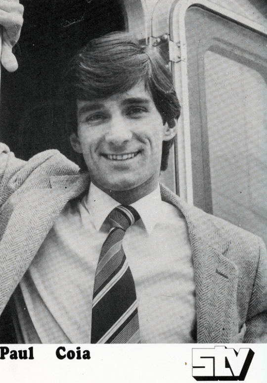 PICTURED: Paul Coia. SUPPLIED BY: Tony Currie. COPYRIGHT: STV.