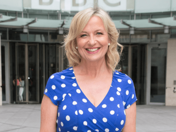 PICTURED: Carol Kirkwood.
