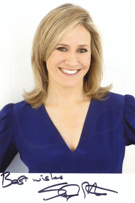 PICTURED: Sophie Raworth. SUPPLIED BY: Paul R. Jackson. COPYRIGHT: BBC.