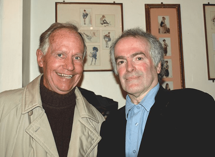 PICTURED: Keith Martin and Greg Bance (Radio Caroline reunion, 2009). SUPPLIED BY: Mary Payne. COPYRIGHT: Unknown.