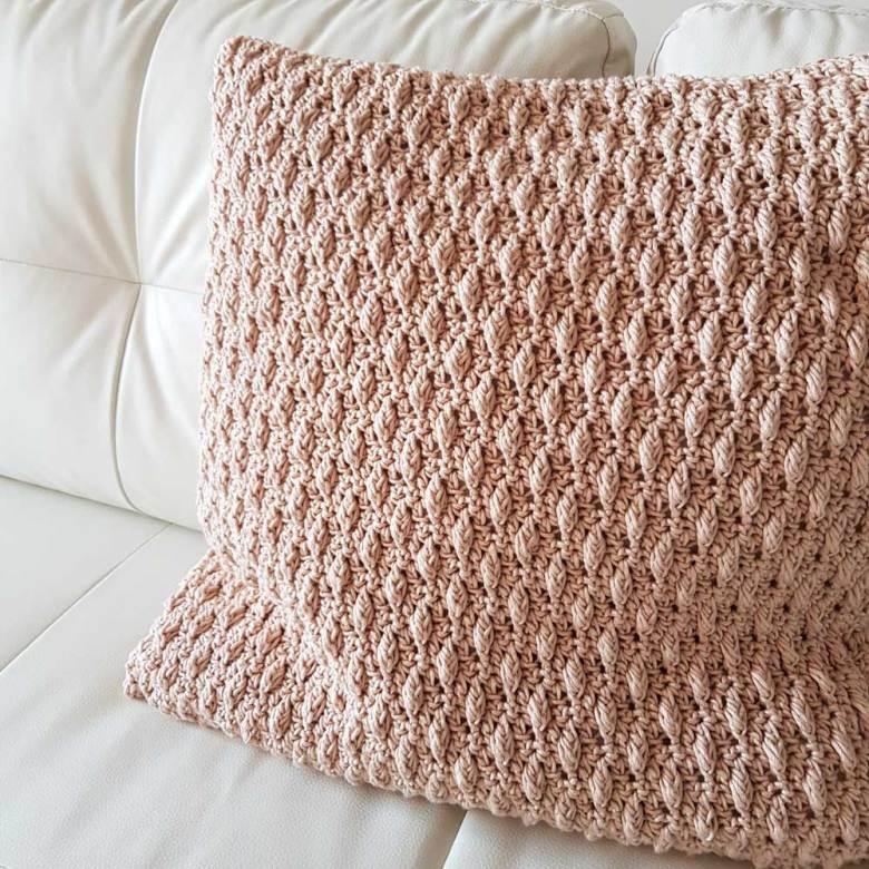 Patron cojin de crochet MyRules