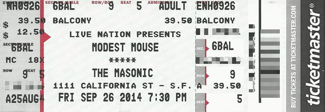 modest mouse 2014