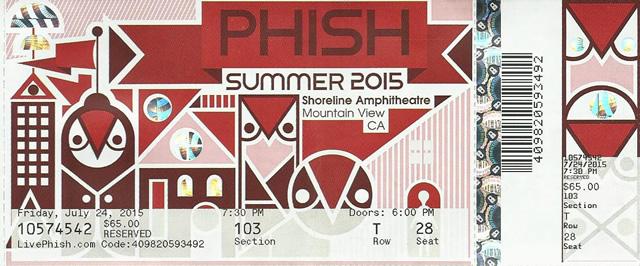 Phish - Shoreline July 24 2015