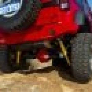 ARB Rear Bar 1588Kg Tj/Yj Suits Armour