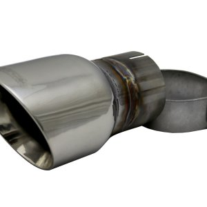Single 3.5 Inch Polished Pro-Series Tip (Clamp Included) 2.5 Inch Inlet Universal Stainless Steel Corsa Performance