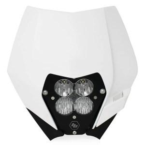 KTM Headlight Kit AC 08-13 LED W/Headlight Shell XL Sport Baja Designs
