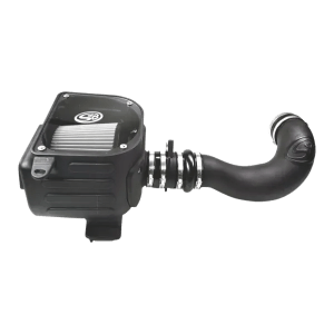 Cold Air Intake For 07-08 GMC Sierra 4.8L, 5.3L, 6.0L Dry Dry Extendable White S&B
