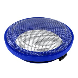 Turbo Screen 5.0 Inch Blue Stainless Steel Mesh W/Stainless Steel Clamp S&B