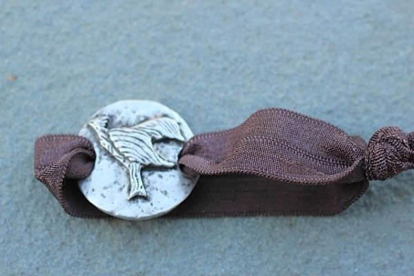 Phoenix hair ties! Jewelry made from recycled silver