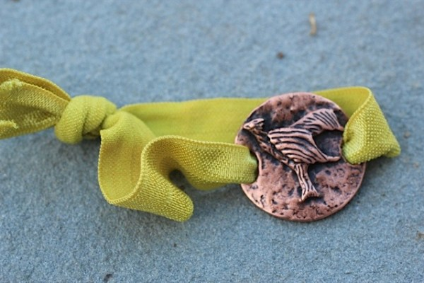 Phoenix hair ties! Jewelry made from recycled brass