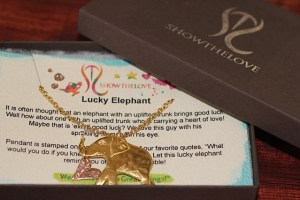 Lucky Elephant in gift box