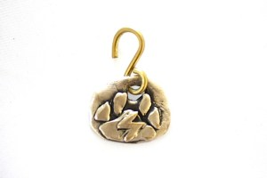 Paw Power! doggie jewelry made from recycled brass or sterling silver