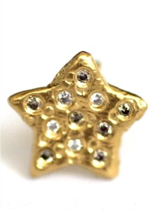 Rising Star Jewelry made from recycled 18k gold over sterling silver