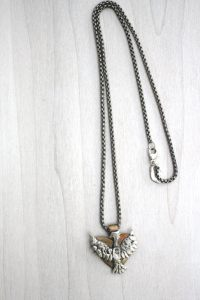 phoenix heart necklace
