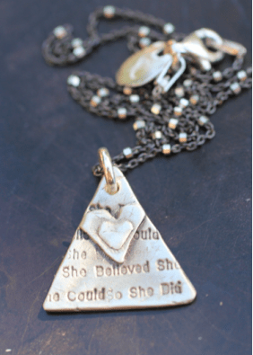 higher self necklace