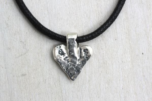 It's only with the heart choker