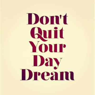 Don't Quit Your Daydream #showthelovejewelry #inspiration #dailyinspiration #dream #daydream