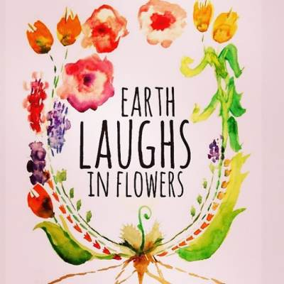 The earth laughs in flowers- Ralph Waldo Emerson #spring #showthelovejewelry #earth #flowers