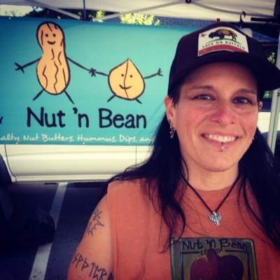 Nut 'n Bean founder, Yvonne, rocking our Phoenix Heart at the PV Farmers Market every Thursday. Rock on and rise up!! #showthelovejewelry #ymportra #nutnbean #phoenixheart #rockonriseup