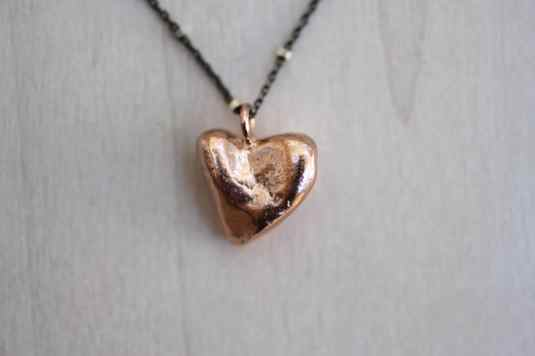 full heart necklace