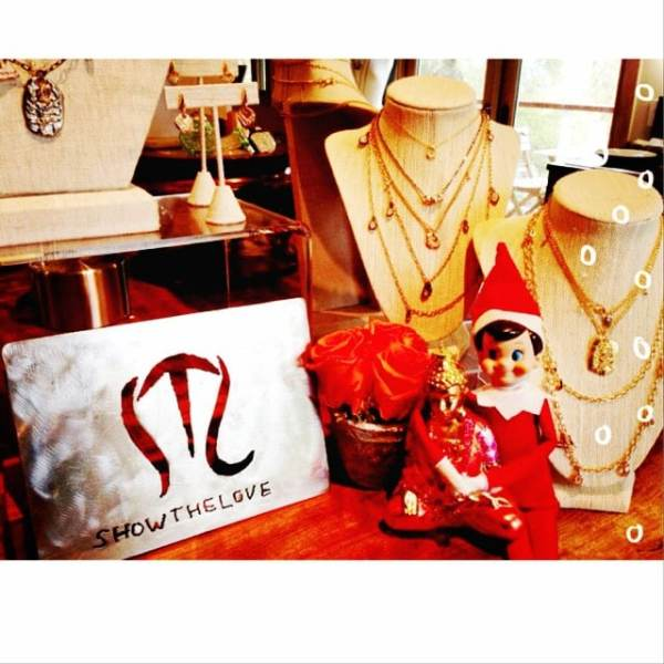 We might have missed a day or two of inspiration due to our very busy holiday (oops!) but no worries our elf is here featuring some of our favorite meanings like our 'Kill 'Em with Kindness' necklace, 'Girl Power' necklace, 'Kindness' necklace, and 'Soldier of Love' earrings! Get your last minute shopping done! #showthelovejewelry #inspiration #kindness #holidays