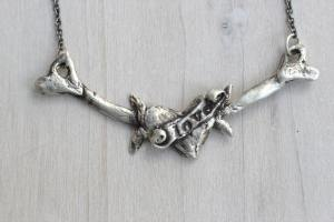 I live in my heart necklace