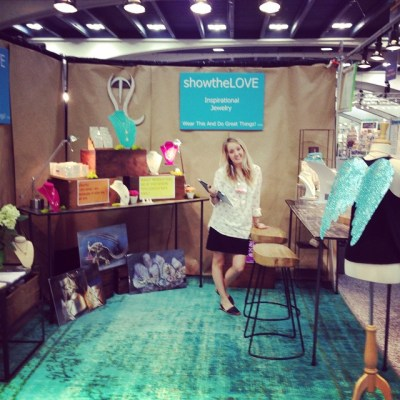 Come visit us today thru Tuesday at the #sfgiftshow at #Moscone ! #showthelovejewelry #shebelievedshecould
