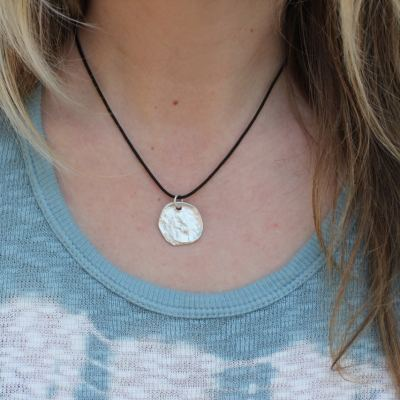 Moon language necklace