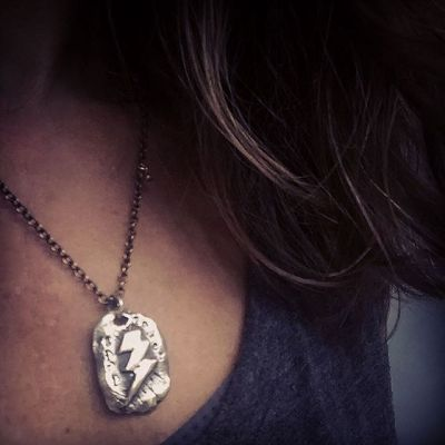 In spite of the rain – or maybe because of – it's a #girlpower kinda day. #showthelovejewelry