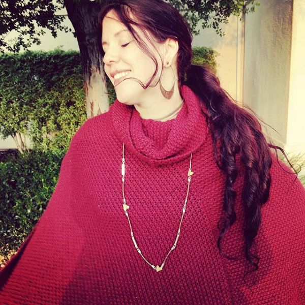 Oh happy #earthday !  Ode to #treehuggers necklace worn by goddess @rosamundi27 #showthelovejewelry