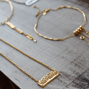 The People Hip Hop Necklace Gold