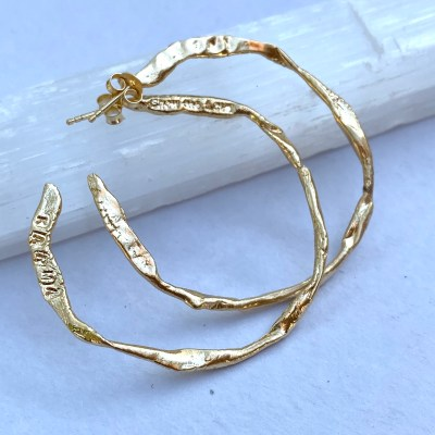 Karma Hoop Earrings