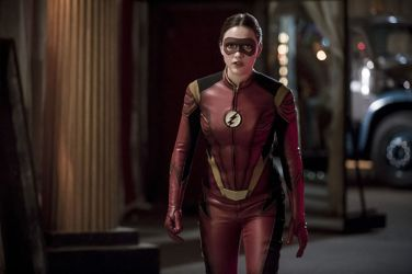 "The Flash -- ""The New Rouges"" -- Image FLA304b_0235b.jpg -- Pictured: Violett Beane as Jesse Quick -- Photo: Katie Yu/The CW -- © 2016 The CW Network, LLC. All rights reserved."