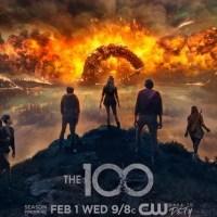 """""""The 100"""" - plakat 4. sezonu"""