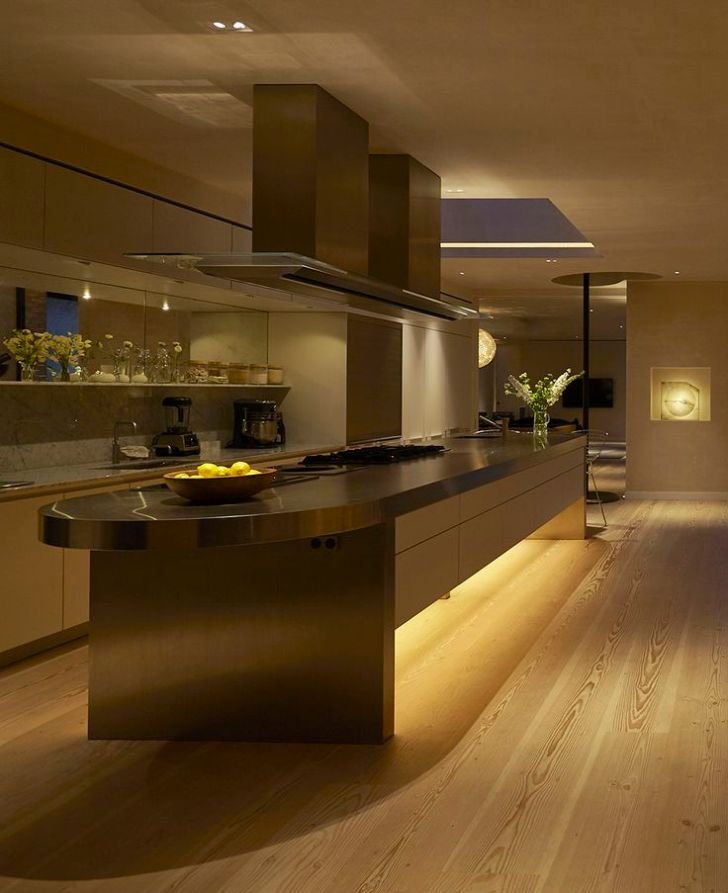 Kitchen Lighting Design by John Cullen Lighting