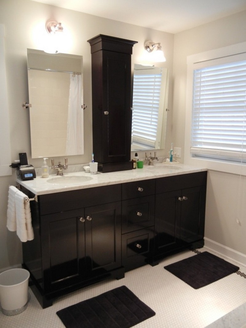 Bathroom Corner Cabinets Furniture For Small Spaces