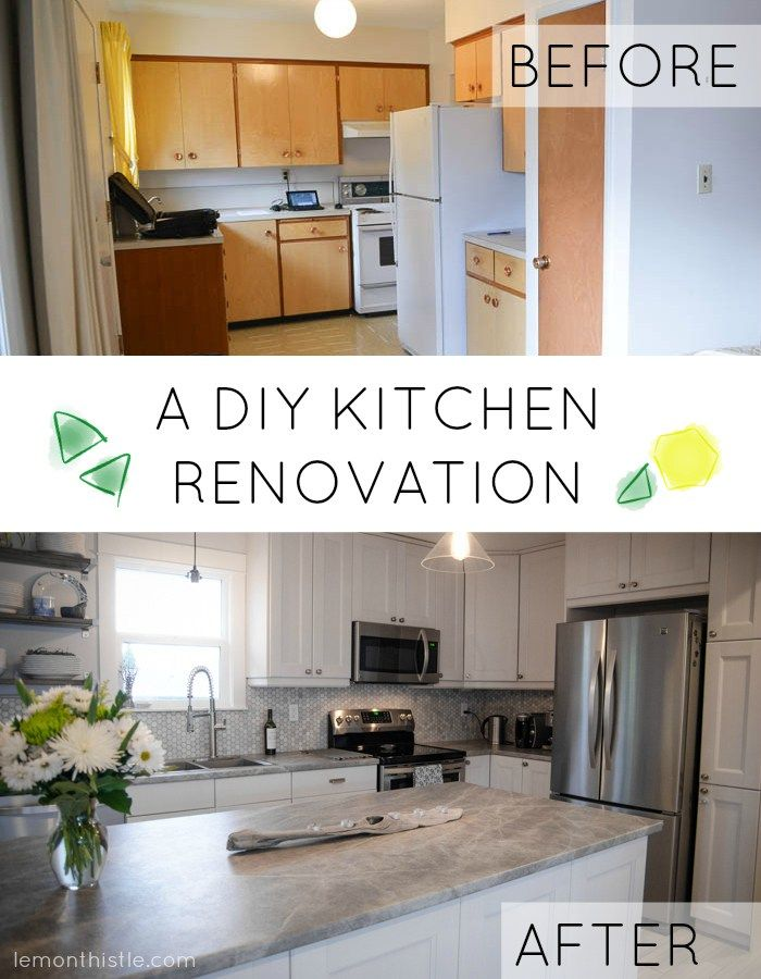 A DIY Kitchen Renovation